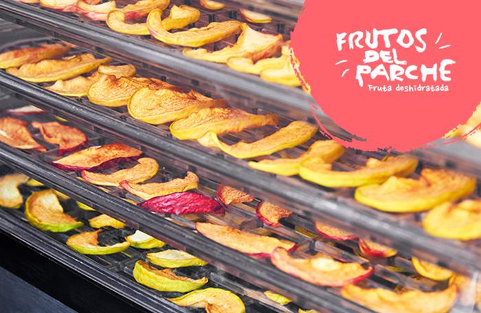 ¿Dónde se originan las frutas deshidratadas?