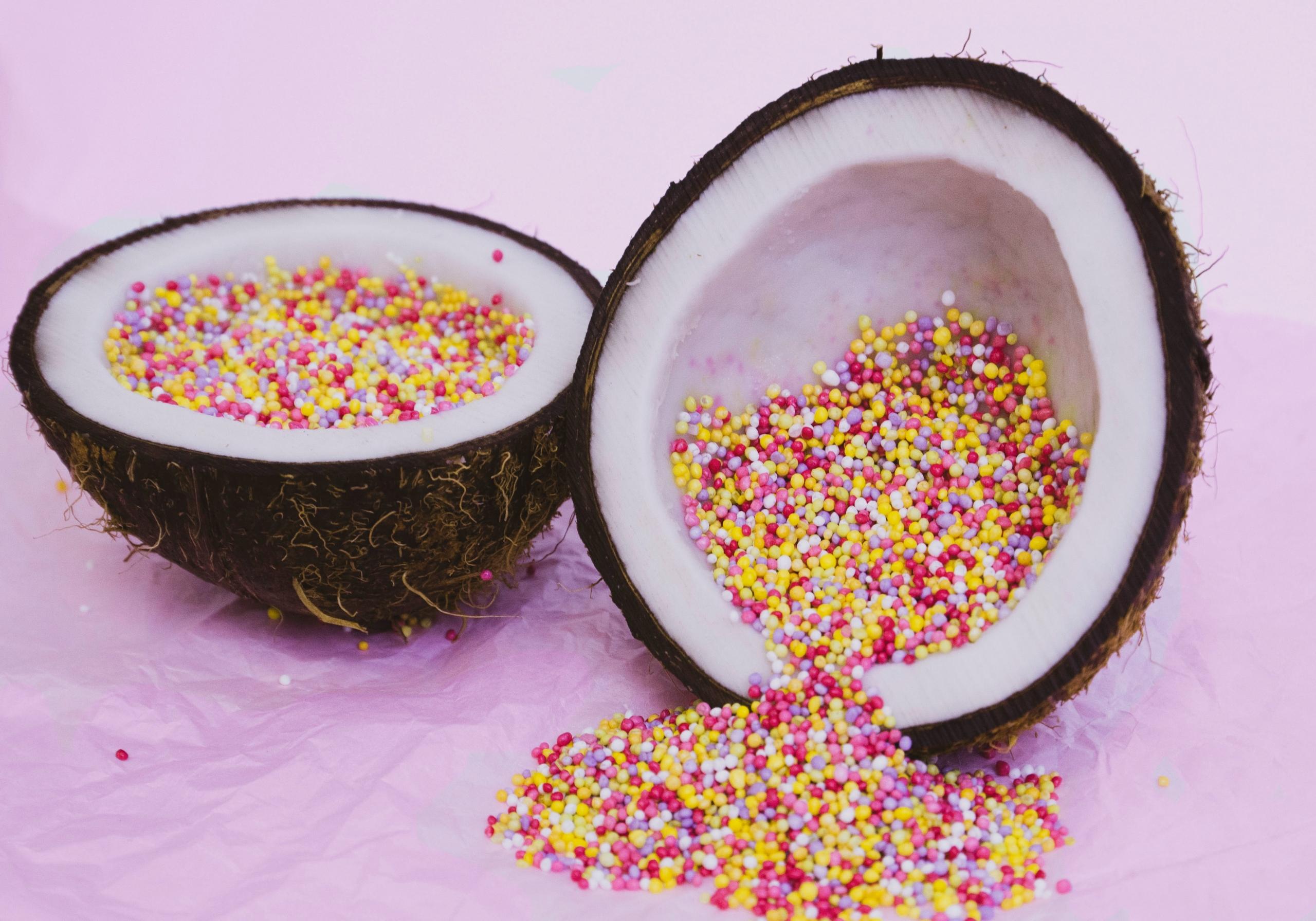 Fruta deshidratada.  Dulce, deliciosa y divertida, no es sinónimo de exceso de azúcar